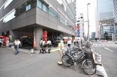 東京メトロ丸ノ内線西新宿駅の様子。(2009-06-29,共用部,ENVIRONMENT,1F)