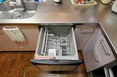 食洗機も使えます。(2010-11-18,共用部,KITCHEN,1F)