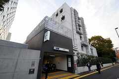 東京メトロ副都心線・西早稲田駅の様子。(2010-11-18,共用部,ENVIRONMENT,1F)