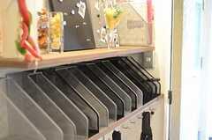 郵便物は部屋ごとに振り分けられます。(2011-11-01,周辺環境,ENTRANCE,2F)