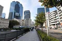 東京メトロ丸ノ内線・西新宿駅周辺の様子。(2011-11-01,共用部,ENVIRONMENT,1F)