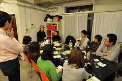 パーティーの様子。(2012-01-07,共用部,PARTY,2F)