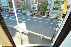 窓の外の様子。(201号室)(2012-12-24,専有部,ROOM,2F)