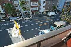 窓から見た外の様子。(302号室)(2012-12-24,専有部,ROOM,3F)