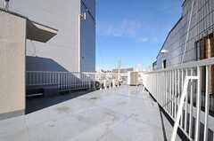 屋上の様子2。(2012-12-24,共用部,OTHER,4F)