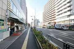 東京メトロ副都心線・西早稲田駅前の様子。(2012-12-24,共用部,ENVIRONMENT,1F)
