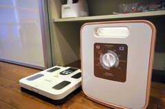 体脂肪計と布団乾燥機もあります。(2010-09-14,共用部,OTHER,1F)