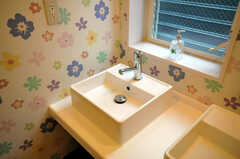 洗面台の様子。(2010-09-14,共用部,OTHER,1F)