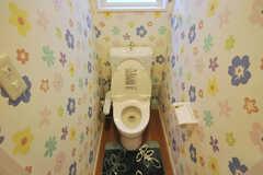 ウォシュレット付きトイレの様子。(2010-09-14,共用部,TOILET,1F)