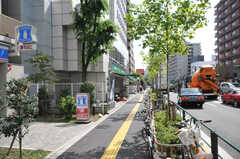 東京メトロ副都心線・西早稲田駅前の様子。(2010-09-14,共用部,ENVIRONMENT,1F)
