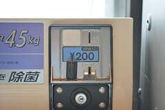 洗濯機は¥200/1回です。(2016-06-07,共用部,LAUNDRY,5F)