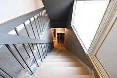 階段の様子。(2016-06-07,共用部,OTHER,3F)