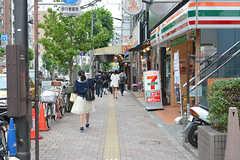 東京メトロ副都心線・西早稲田駅周辺の様子。(2016-06-07,共用部,ENVIRONMENT,1F)
