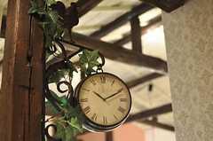 時計の様子。(2011-04-08,共用部,OTHER,1F)