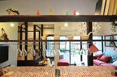 ワイングラスは引っ掛けて収納します。(2011-04-08,共用部,KITCHEN,1F)