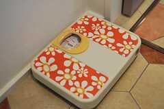 レトロな体重計もあります。(2011-04-08,共用部,OTHER,1F)