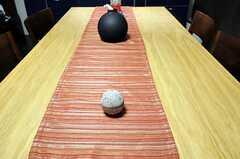 ダイニングテーブルの様子。(2011-06-21,共用部,LIVINGROOM,3F)