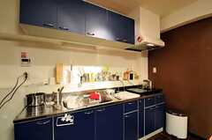 シェアハウスのキッチンの様子。(2011-06-21,共用部,KITCHEN,3F)