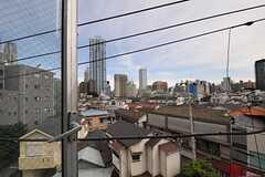窓から見た眺め。(401号室)(2011-06-21,専有部,ROOM,4F)