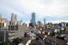 屋上からは新宿を一望できます。。(2011-06-21,共用部,OTHER,6F)