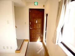 3階玄関の様子。(2007-01-22,周辺環境,ENTRANCE,3F)