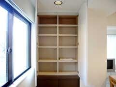 玄関に設置された収納棚(2007-01-22,周辺環境,ENTRANCE,3F)