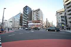 各線・東新宿駅前の様子。(2016-01-05,共用部,ENVIRONMENT,1F)