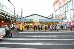 JR・新大久保駅の様子。(2016-01-05,共用部,ENVIRONMENT,1F)