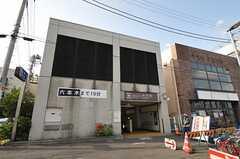 都営大江戸線・中井駅の様子。(2011-10-10,共用部,ENVIRONMENT,1F)