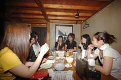 パーティーの様子。(2008-08-06,共用部,PARTY,1F)