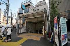 東西線・早稲田駅の様子。(2013-05-19,共用部,ENVIRONMENT,1F)