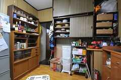 キッチンの様子3。(2013-12-25,共用部,KITCHEN,1F)