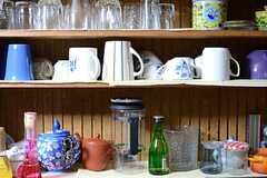 食器棚の様子。(2013-12-25,共用部,KITCHEN,1F)