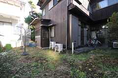 庭の様子。(2013-12-25,共用部,OTHER,1F)