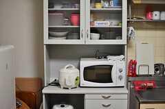 キッチン家電の様子。(301号室)(2012-12-18,共用部,KITCHEN,3F)