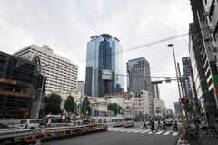 東京メトロ丸ノ内線西新宿駅前の様子。(2010-05-28,共用部,ENVIRONMENT,1F)