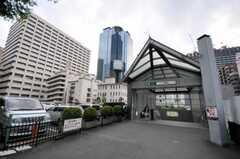 東京メトロ丸ノ内線東京メトロ丸ノ内線西新宿駅の様子。西新宿駅前の様子。(2010-05-28,共用部,ENVIRONMENT,1F)