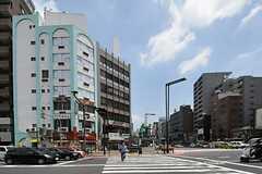 各線・四谷三丁目駅前の様子。(2012-07-04,共用部,ENVIRONMENT,1F)