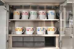 マグカップが収納できます。(2014-06-16,共用部,KITCHEN,3F)
