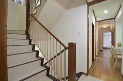 階段の様子。(2014-06-16,共用部,OTHER,2F)