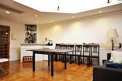 シェアハウスのラウンジの様子6。(2009-10-13,共用部,LIVINGROOM,)