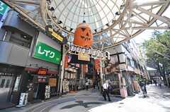 遊び心のある商店街。(2009-10-13,共用部,ENVIRONMENT,1F)
