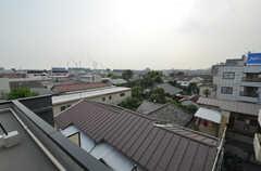 屋上からの景色。(2014-07-24,共用部,OTHER,5F)