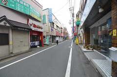 京王線・桜上水駅から続く商店街の様子。(2014-07-24,共用部,ENVIRONMENT,1F)