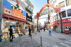 高円寺駅前の商店街。(2014-05-09,共用部,ENVIRONMENT,1F)