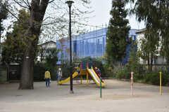 シェアハウス周辺の様子。公園が近くにあります。(2018-04-02,共用部,ENVIRONMENT,1F)