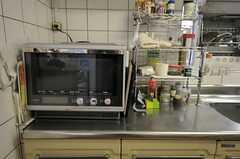 キッチン家電の様子。(2012-04-10,共用部,KITCHEN,1F)