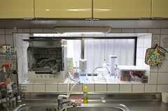 出窓ゾーンには食洗機があります。(2012-04-10,共用部,KITCHEN,1F)