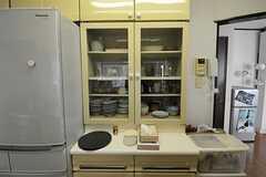 食器類は豊富に揃えられてあります。(2012-04-10,共用部,KITCHEN,1F)