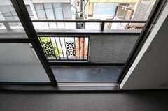 こちらの部屋はベランダ付きです。(204号室)(2012-04-10,専有部,ROOM,2F)